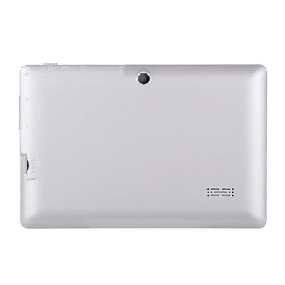 NEW CVYF-74145-WHITE THIS 7 INCH QUAD CORE TABLET COMES WITH AN ANDROID 4.4.g.