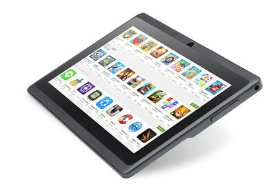 NEW CVYF-74145-BLACK THIS 7 INCH ANDROID 4.4 TABLET HAS A QUAD CORE A33 CPU.g.
