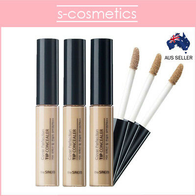 [THE SAEM] Cover Perfection Tip Concealer 6.5g Beige Natural Rich Clear