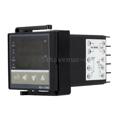 Digital LED PID Temperaturregler Thermostat Thermometer Heizungsregelung W3Z1