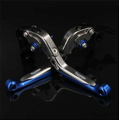 For Triumph TIGER 1050/Sport 07-15 CNC Adjustable Motorcycle Brake Clutch Levers