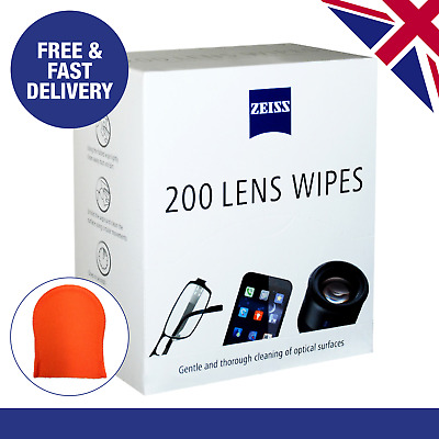 Zeiss Optical Lens Cleaning Wipes | Laptops | Tablets | Camera | Mobile Phones