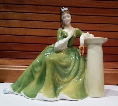 ROYAL DOULTON Vintage Bone China Figurine - Secret Thoughts HN 2382