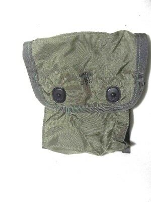 Government Issue US Military Surplus LC2 First Aid Pouch With Medical Insignia