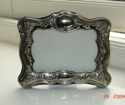 Silver photograph frame - antique style