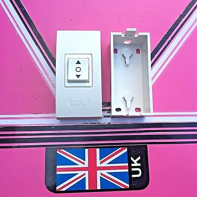 Projection Screen up Down Switch & back box (new)