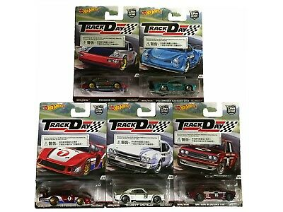 Hot Wheels Car Culture Track Day  Set  in 1:64   5 ´ er Set  ***