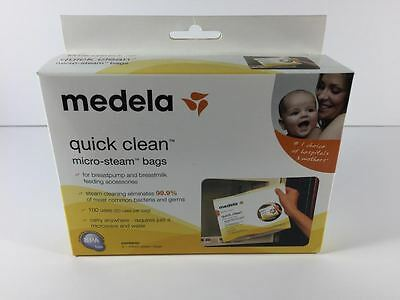 Medela Quick Clean Micro-Steam Bags 5 Pack