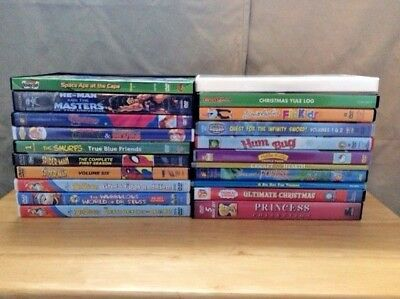Lot of 21 DVD's for Children, see description for titles, all very gently used