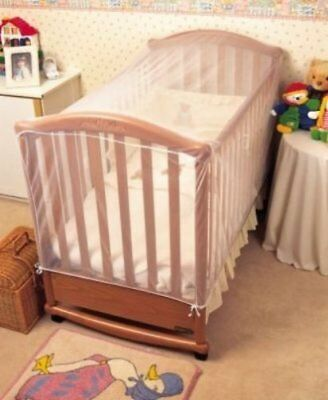Clippasafe Cot Bed Cat Net Strong & Open Weave Mesh Helps To Prevent Cats New
