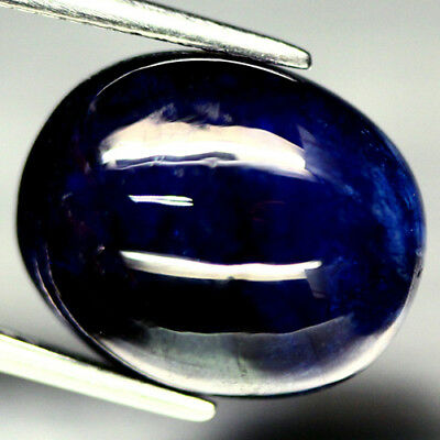 1 SAPHIR 14x12 Oval Cabochon 12,5Ct.