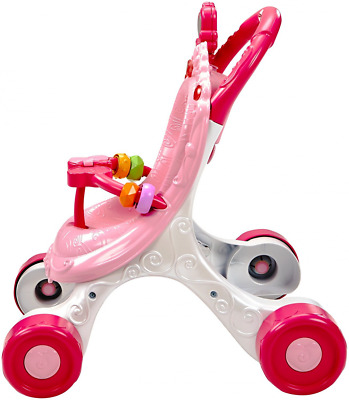Fisher Price CGN65 Princess Mommy Stroll Along Musical Walker