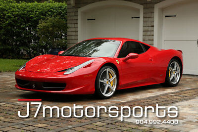 Ferrari 458  2013 Ferrari 458 One Owner Mint 260k MSRP Lease 1750 mo.