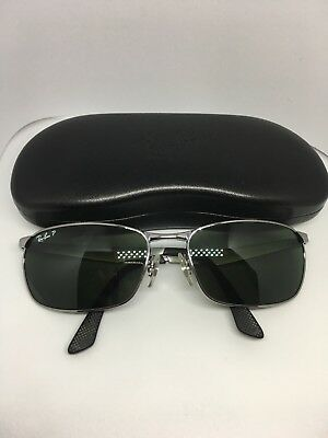 1ee7c1a1ecf RAY BAN SUNGLASSES RB3534 004 58 62mm 135 Polarized -  88.00