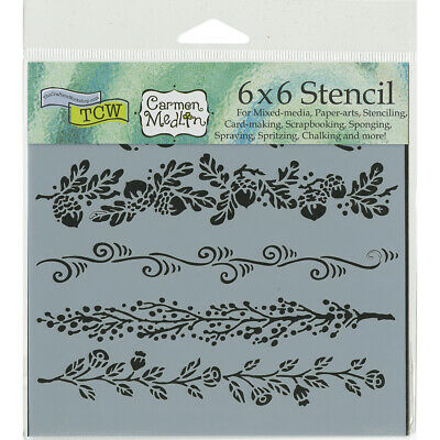 "Crafters Workshop Crafter/'s Workshop Template 6/""X6/""-Sketch Grid 3Pk"