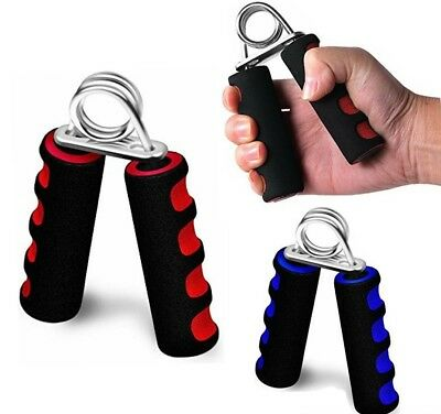 2 x Hand Grip Grippers Forearm Wrist Muscle Training Strength Exerciser Grips