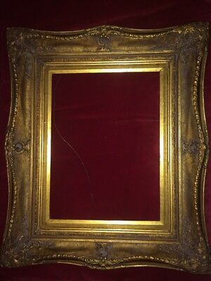 Reproduction Antique Century Detailed Multi Tier Gilt Gesso Frame Rococo Style