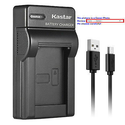 Kastar Battery Slim Charger for Canon BP-511 CB-5L & EOS D60 EOS Kiss Digital