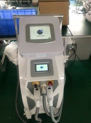 Apollo Pro Ultra 4 in 1 OPT+ SHR+RF +ND YAG Tattoo Removal Laser Free Training