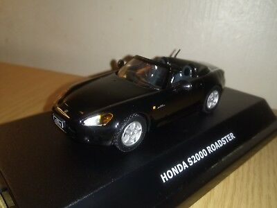 Honda S2000 Sports Car In 1/43 Scale Model By Maxi Car In Clear Display Box..