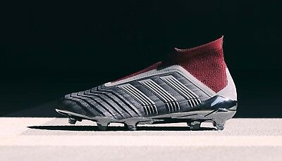 ADIDAS PREDATOR X Paul Pogba 18+ Silver Red FG Football