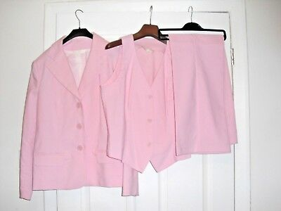 3 PEICE SUIT in PINK  size 14  from FOR WOMEN in VGC worn once
