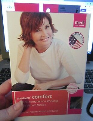 MEDIVEN COMFORT 44992 THIGH lace  TB CT chocolate 15-20MMHG SIZE ll