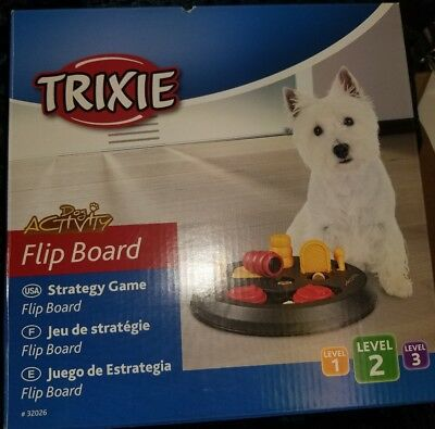 Dog Training Toy Animal Activity Flip Board TRIXIE Strategy Snack Game