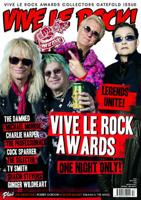 VIVE LE ROCK ISSUE 53 - May 2018 - LTD Awards Edition, Damned, UK Subs, Ruts....
