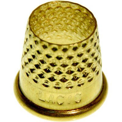 Lacis RQ62-19 Open Top Tailor's Thimble-Size 19mm