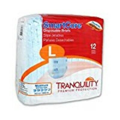 Tranquility SmartCore Disposable Briefs Large Pack of 12 - #2313 Adult Diaper
