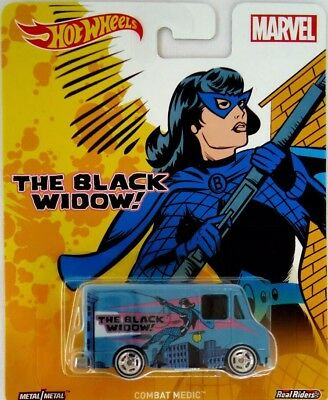 Real Riders Scarlet Witch Pop Culture Hot Wheels Combat Medic New Marvel