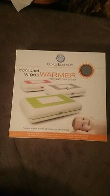Prince Lionheart Compact Grey Baby Wipe Warmers Diapering Grey Travel Organizer