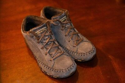 7170a48d54b5 Skechers Womens Bikers Totem Pole Relaxed Fit Shoes Chocolate Brown 49013  Sz 6