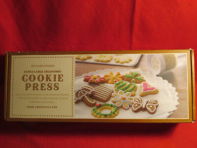 Williams and Sonoma extra Large Ergonomic Cookie Press Lightly Used