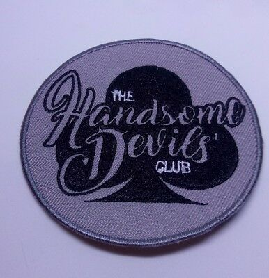 Handsome Devils' Club  Iron/Sew On Band Patch Embroidery