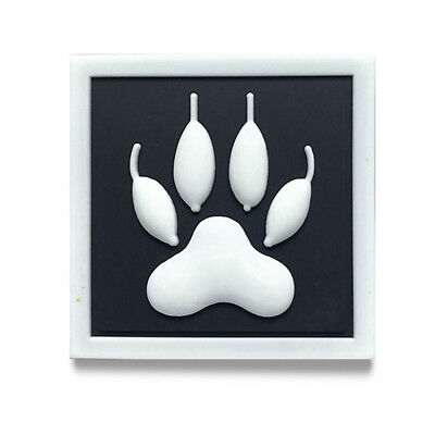 3 x K9 DOG PAW VEHICLE STICKER DECALS s440