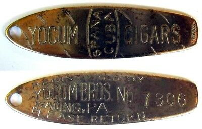 Yocum Bros. Cigars    Not A Charge Coin ??  Advertising Token