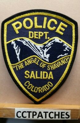 Salida, Colorado Police Shoulder Patch Co