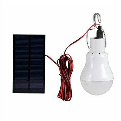 15/20W Solar Powered LED Rechargeable Bulb Light Outdoor Camping Lamp BEST