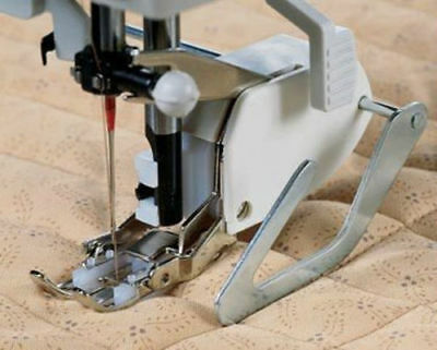 Sewing Machine Screw-on Even Feed Walking Foot with Quilt Guide for Brother