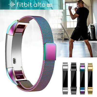 Stainless Steel Replacement Spare Band Strap Magnetic for Fitbit Alta / Alta HR