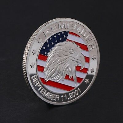 911 Eagle Head September 11 2001 Commemorative Coin Collection Art Gift Souvenir