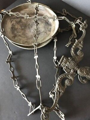 Old Brass / Copper Scales with two Pans …beautiful collection / Display / accent
