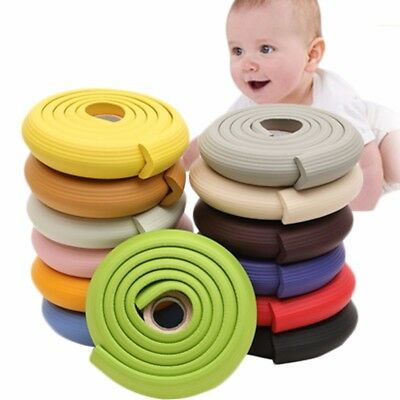 Baby Child 2m Safety Desk Glass Table Edge Protector Cover Roll Soft Foam Bumper