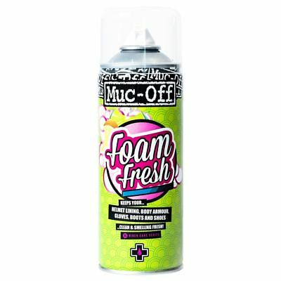 Oxford Muc-Off Pads/Gloves/Shoes/Helmets/Liners/Body Parts Fresh Foam 400ml M199