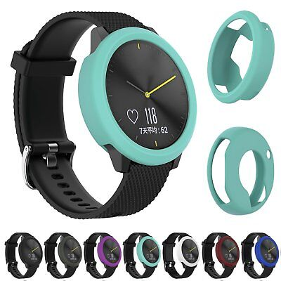 New Silicone Case Cover Shell Protector for Garmin Vivomove HR Smart Watch Band