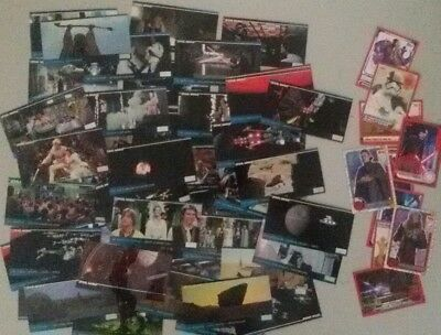 Lot bulk of 57 TOPPS Star Wars Episode IV A New Hope Widevision cards 1995