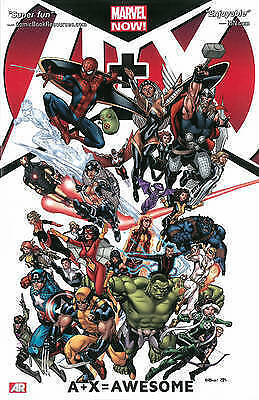 A+X: Volume 1: Awesome by Jeph Loeb, Dan Slott  2013 Marvel Graphic Novel  TPB