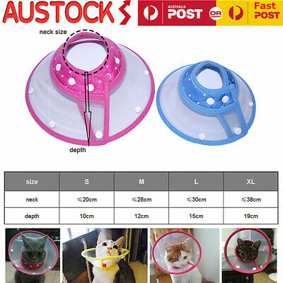 Dog Cat Elizabethan Wound Healing Cone Protection Smart Pet Collar medical